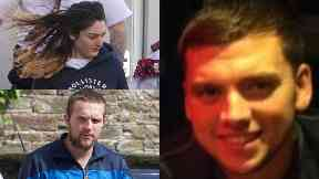 Murdered: Steven Donaldson was lured to his death by Tasmin Glass and killed by Callum Davidson.