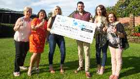 Winners: Ayrshire Butterflies Syndicate scooped £1m.