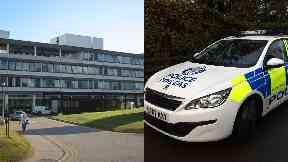Police: Officers were called to Aberdeen Royal Infirmary.