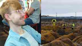 Ruaridh Sandison: Divers and a helicopter were called.