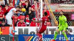 Aberdeen were well beaten by Rijeka.