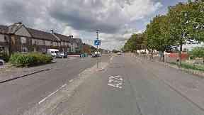 Motherwell: The attack happened on Bellshill Road.