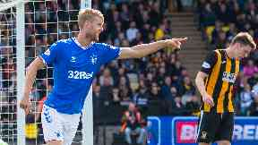 Helander and Docherty drop out of Rangers' European squad