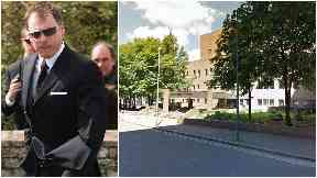 Accused: John Leslie has denied the accusation.