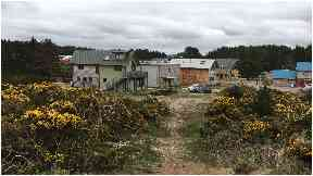 Findhorn Ecovillage: More houses will be added.