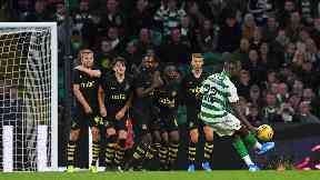 Odsonne Edouard scored Celtic's second goal.