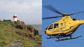 Fife: Several lifeboat crews were called.
