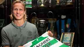 Moritz Bauer: Celtic have the option to buy the 27-year-old.