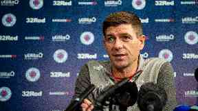 Gerrard is eagerly anticipating the arrival of Legia Warsaw.