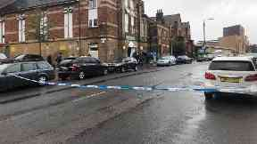 Mosque: A man was stabbed.