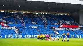 Ibrox: Rangers has been ordered to close a 3000-seat section.