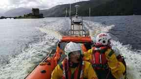 Eilean Donan Castle: Emergency teams raced to the rescue.