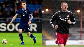 Call up: Centre-backs David Bates and Michael Devlin will play for Scotland.
