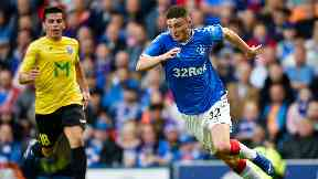 Jake Hastie has made two appearances for Rangers.