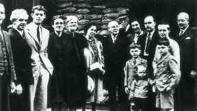 A young John. F. Kennedy arrived in Glasgow days after war broke out.