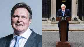 Stephen Kerr: The MP has backed Boris Johnson.