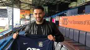 Stephen Hendrie: The 24-year-old has signed from Southend.