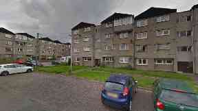 Edinburgh: Police executed two warrants in Saughton Mains Terrace.