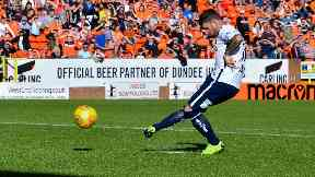 Bobby Linn: The striker picked up a parking fine outside Tannadice.