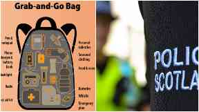 What is Police Scotland's Grab Bag and what should you pack?
