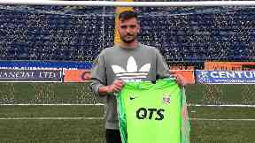 Koprivec is Killie's latest signing.