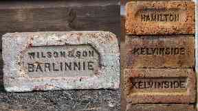 Many of his bricks are stamped.