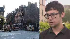 Edinburgh: Andrew McQuater raised the alarm.