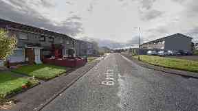 Blantyre: The attack happened near to Burnbrae Road.