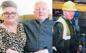 Iain McKenzie with his wife Helen.