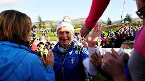 Record-breaking crowds watched Europe's Solheim Cup win