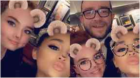 Excited: Ariana surprised staff with free tickets to her show.