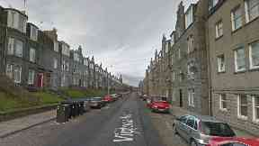 Aberdeen: The drugs were found after a fire in Victoria Road.