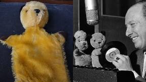Auction: Original Sooty puppet.