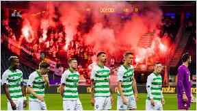 Celtic: Fined over fireworks.