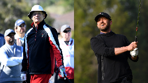 Dunhill Links: Bill Murray and Justin Timberlake.