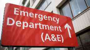 Emergency wards: NHS Lanarkshire has warned it could turn away non-serious patients.