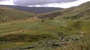 The SAS selection march was in the Brecon Beacons.
