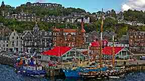 Growth deal: Towns like Oban set to benefit.