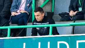 Heckingbottom was sent to the stand.
