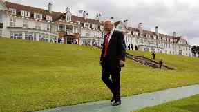 Rejected: Trump's plans for resort expansion.