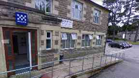 Investigation: Forres police station is at the centre of an inquiry.