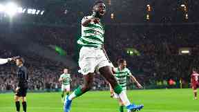 Celtic: Odsonne Edouard headed the home side in front after 20 minutes.