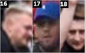 Police appeal: CCTV images.