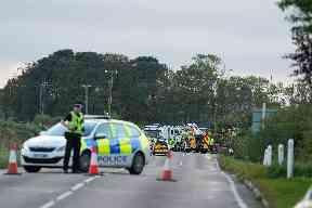 Crash: Two women seriously injured.