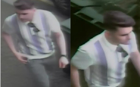CCTV: Man wanted over assault in Glasgow.