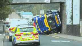 Inverness: The crash happened on Monday morning.