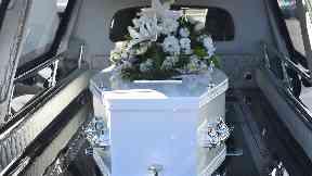 Debt: Funeral costs.