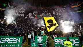 """Celtic have been charged by UEFA over supporters using """"fireworks""""."""