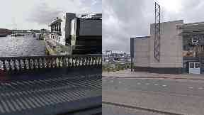 Glasgow: The woman was attacked under the George V Bridge.