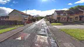 Greenock: The victim was attacked on Saturday morning.
